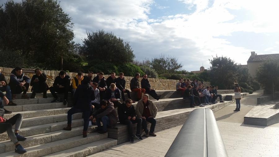 Les 1ères et terminales CTRM à Marseille