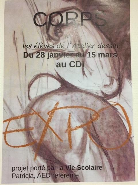 Expo N° 2 des élèves de l'atelier dessin - 28 janv