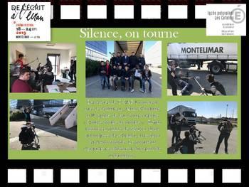 Tournage d'un court-métrage TCAP CRM CLM MVI
