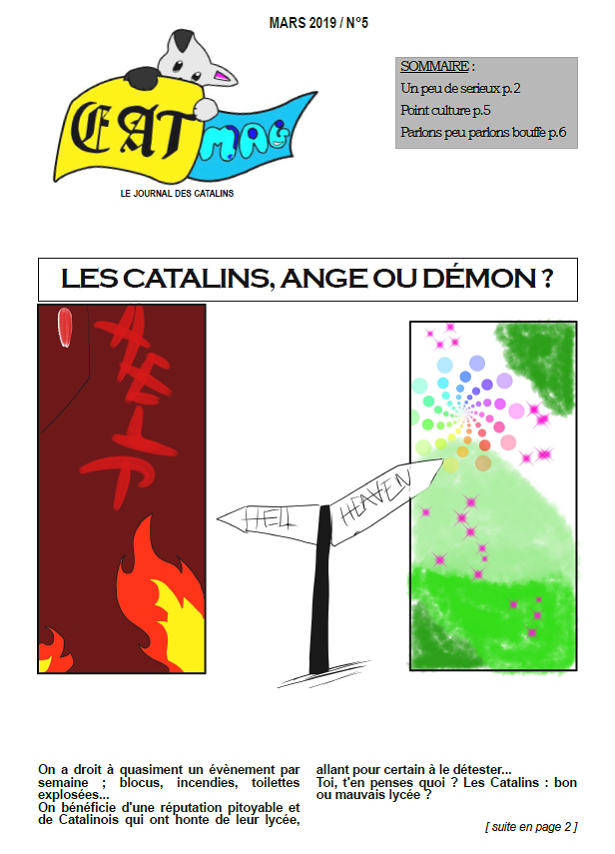 Cat Mag n°5 !